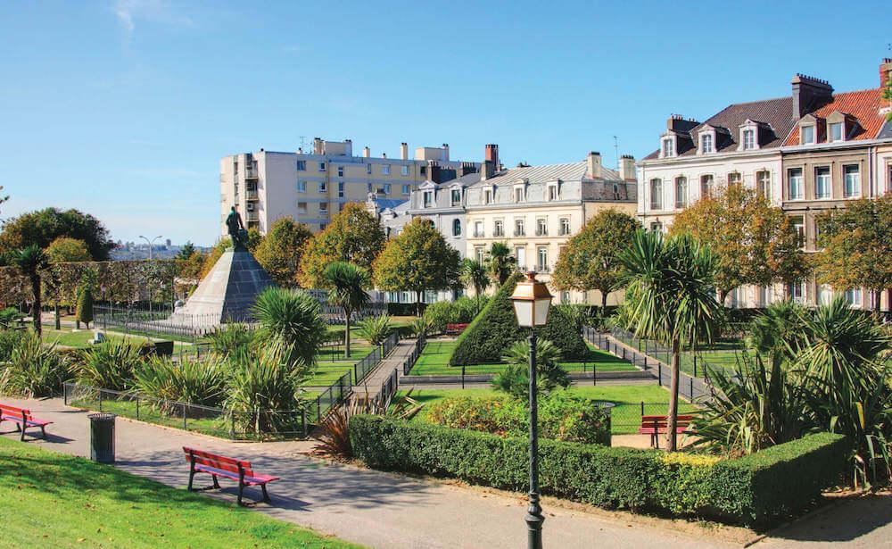 Jardin Boulogne-sur-Mer