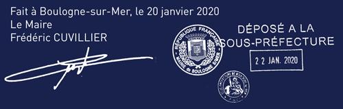 Signature du règlement du parc
